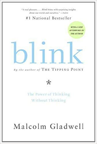 Blink by Malcolm Gladwell Book Cover