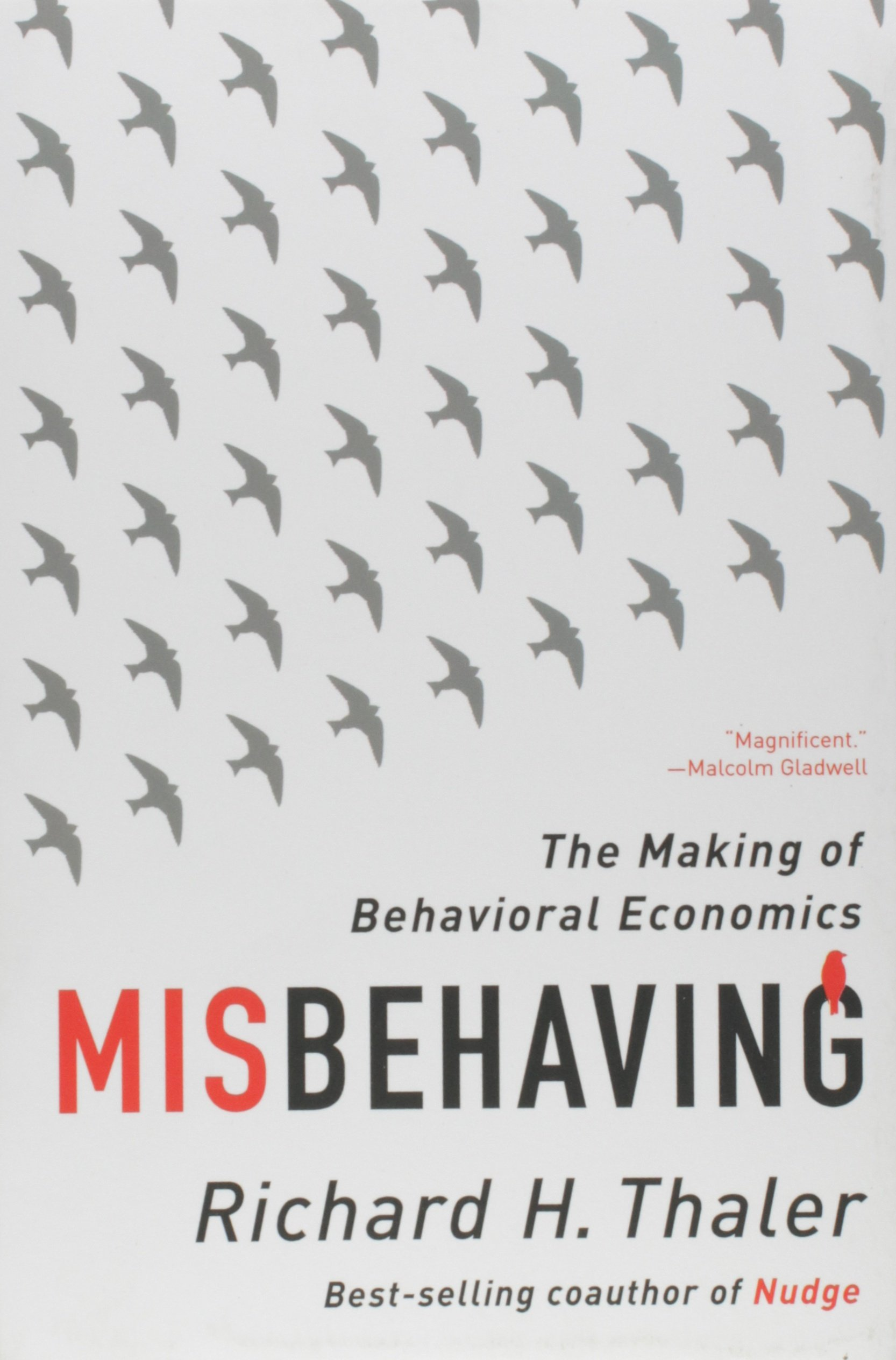 Misbehaving by Richard H. Thaler Book Cover