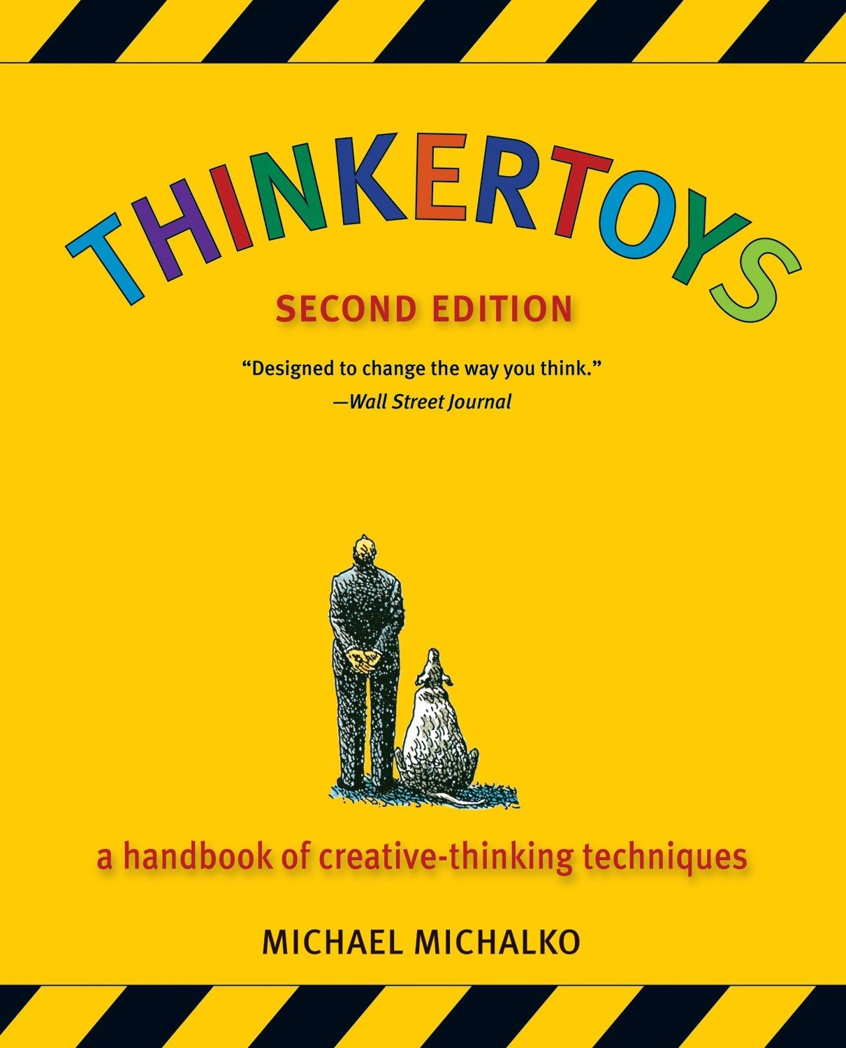 Thinkertoys by Michael Michalko Book Cover